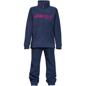 Bergans Smådøl Set d'autocollants Enfant, navy/hot pink